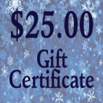 $25 cert graphic